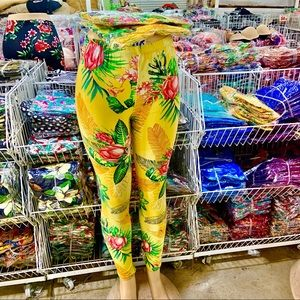 Pants - Tropical Leggings